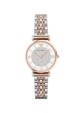 e2ac70949d1 Product Image Women s Retro Two-Tone Stainless Steel Quartz Watch AR1926