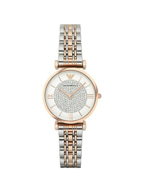 09e2089557a5 Product Image Women s Retro Two-Tone Stainless Steel Quartz Watch AR1926.  Product TitleEmporio ArmaniWomen s ...