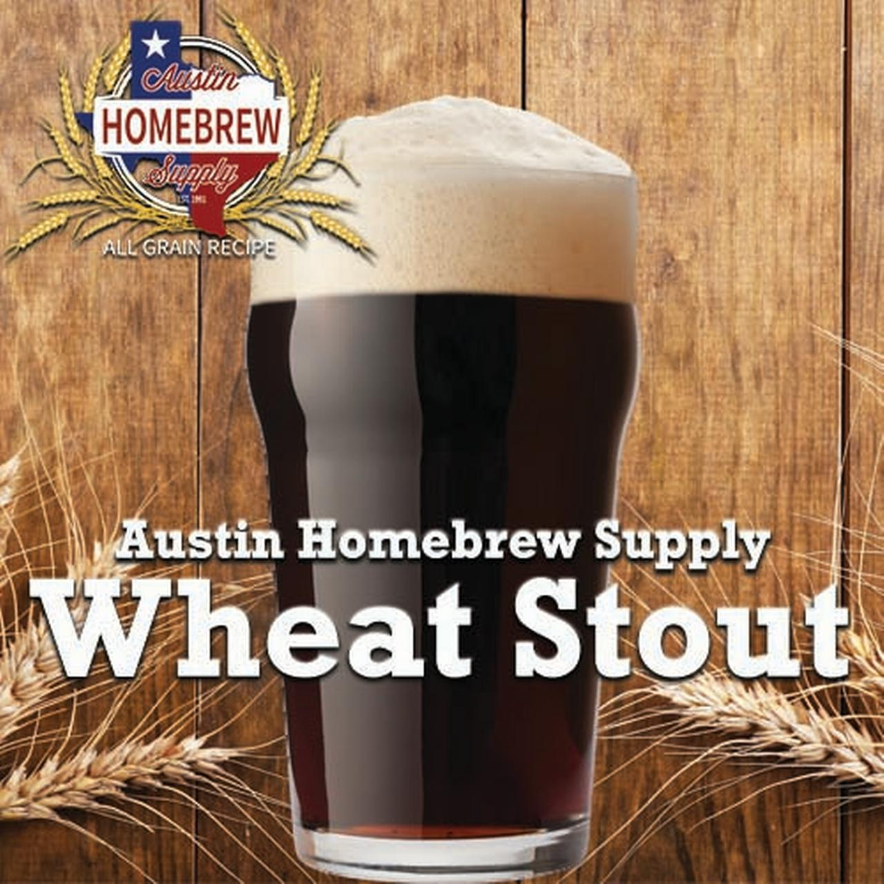 Austin Homebrew Wheat Stout (13E) - ALL GRAIN