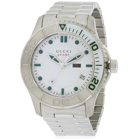 Gucci G-Timeless Stainless Steel Men's Watch, YA126232