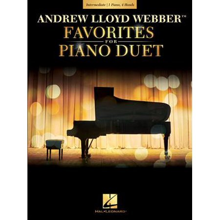 Andrew Lloyd Webber Favorites for Piano Duet : Early Intermediate
