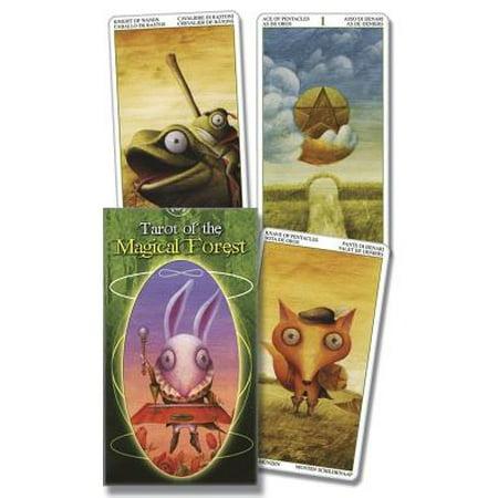 Tarot of the Magical Forest](The Halloween Tarot Kipling West)