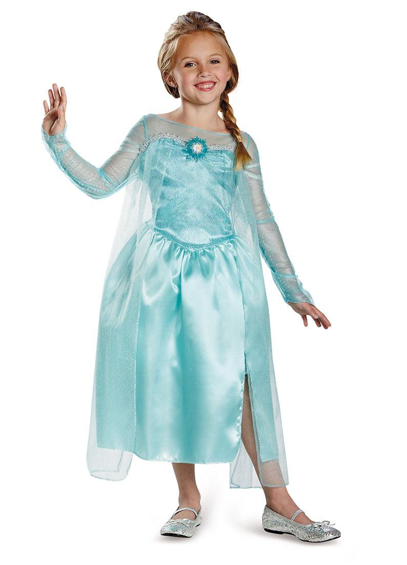 Disney Frozen Elsa Snow Queen Dress Child Halloween Costume - Walmart.com  sc 1 st  Walmart & Disney Frozen Elsa Snow Queen Dress Child Halloween Costume ...