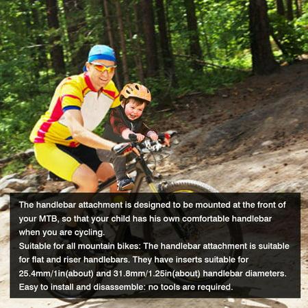 Kids MTB Handlebar Attachment Perfect Accessory for Mountain Bike Child Seat