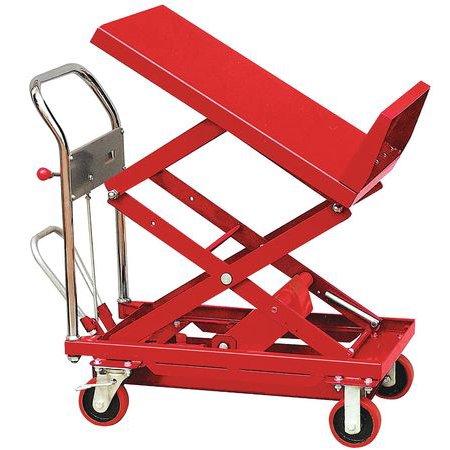 Scissor Lift Table, 600 lb  Cap, 24
