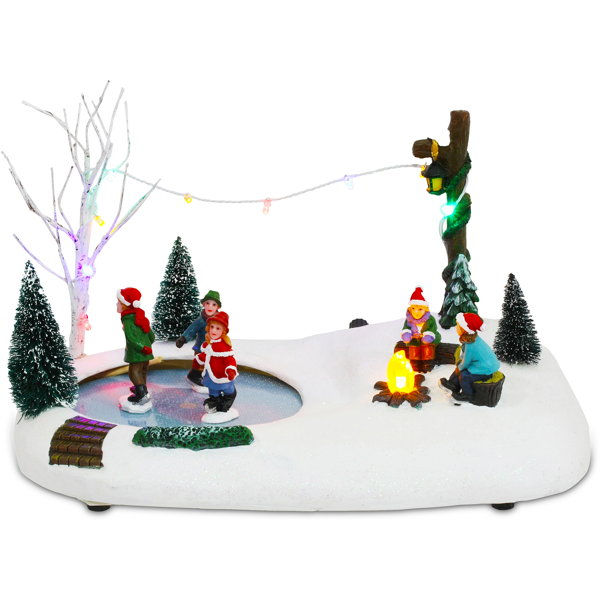 Christmas Ice Skating Pond Decoration | www.indiepedia.org