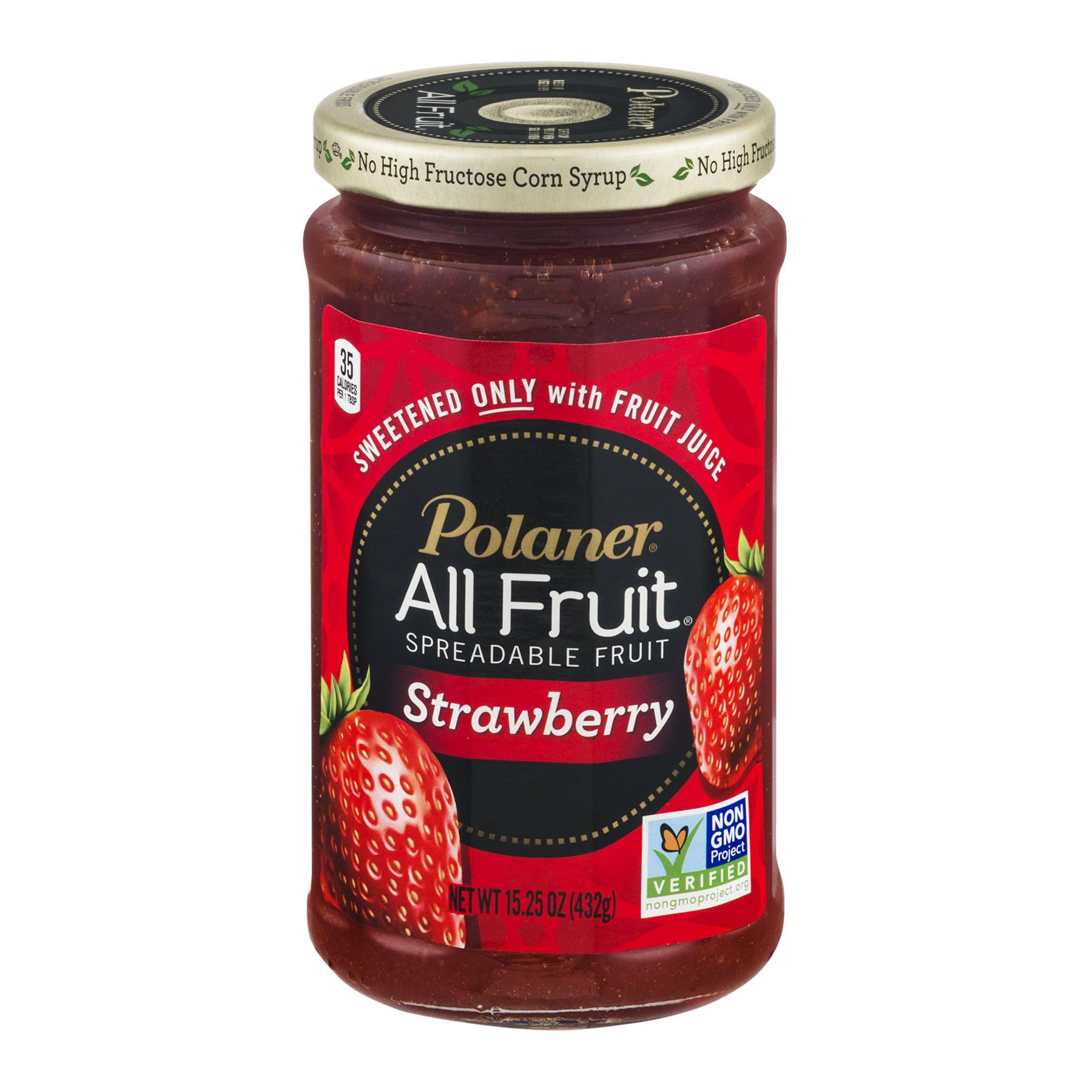 Polaner All Fruit Strawberry Fruit Spread, 15.25 oz