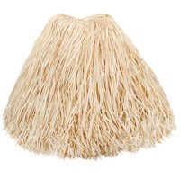 Darice Natural Colored Raffia Table Skirt, 30 Inches x 9 Feet