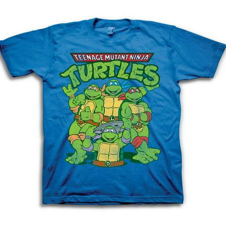 3781c846f16 Teenage Mutant Ninja Turtles - Toddler Boys  Classic Group Shot Logo Short  Sleeve Graphic T-Shirt - Walmart.com