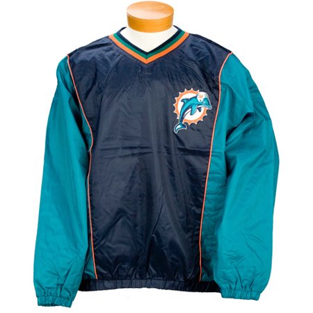buy popular a4ad0 87d50 NFL - Men's Miami Dolphins Lightweight Pullover Jacket ...