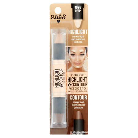 Stick Princess Duo - Hard Candy Look Pro! Highlight & Contour Face Duo Stick, 0.184 oz