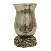 Decor Therapy Silver Leaf Uplight