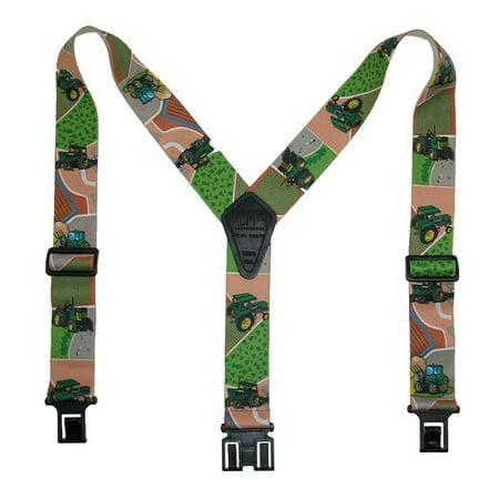 2 Regular Clip-On Hook End Belt Suspender w/ Novelty (Trim Suspender Belt)