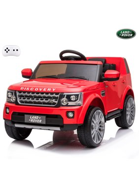 12V Ride on Cars, Kids Ride on Toys with 2.4G Remote Control, Electric Vehicles Ride On Truck Car with LED Lights, Horn, MP3 Player, Red Power 4 Wheels Ride On Toys for Boys Girls, 3 Speeds, L6549