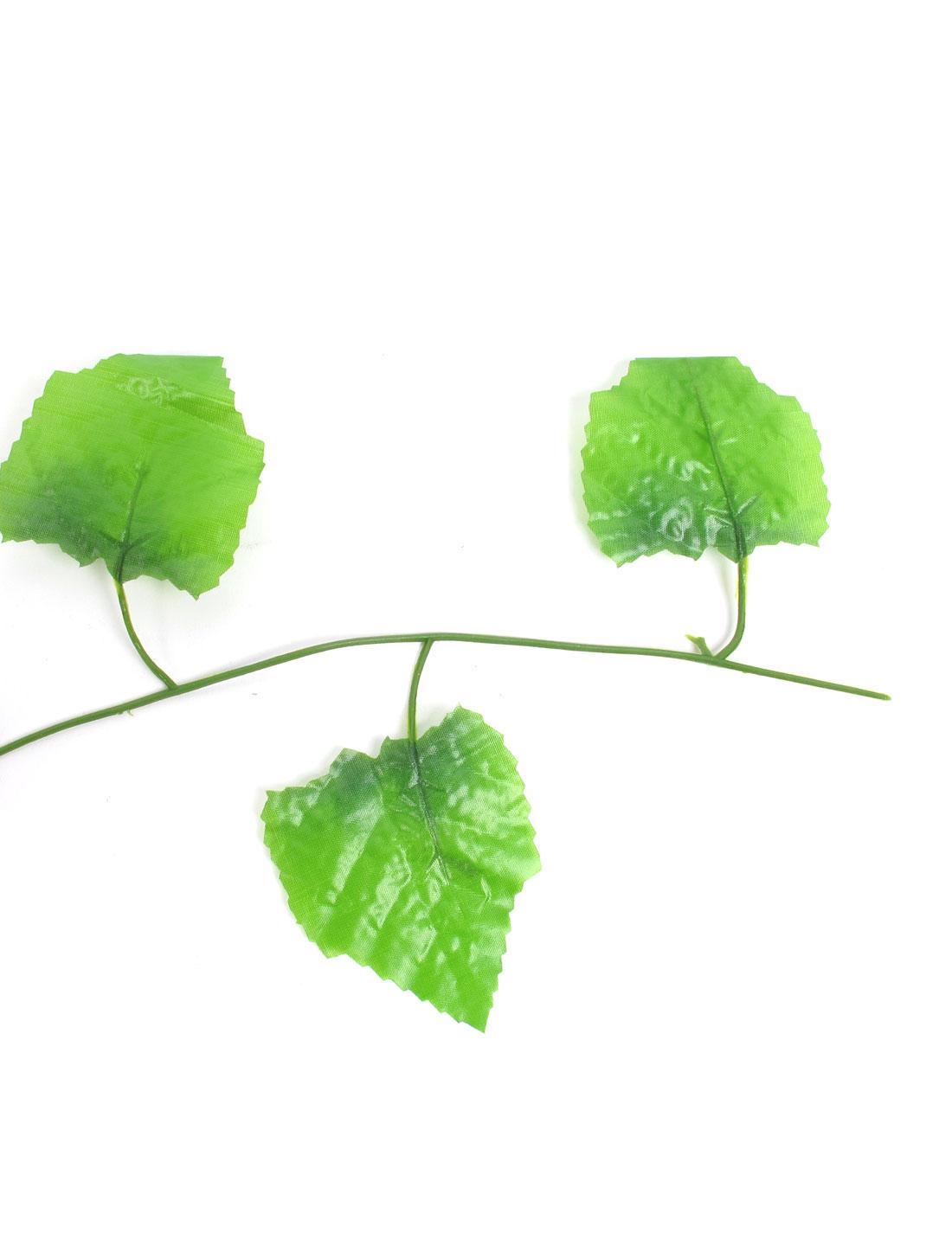 Sweieoni/12 Pcs 2m Lierre Artificiel Plantes Guirlande Vigne 50 Pcs Vert Attache de C/âble Vert Feuillage Artificiel Garland Lvy Feuillage D/écoration pour Mariage Balcon Cuisine Jardin Bureau