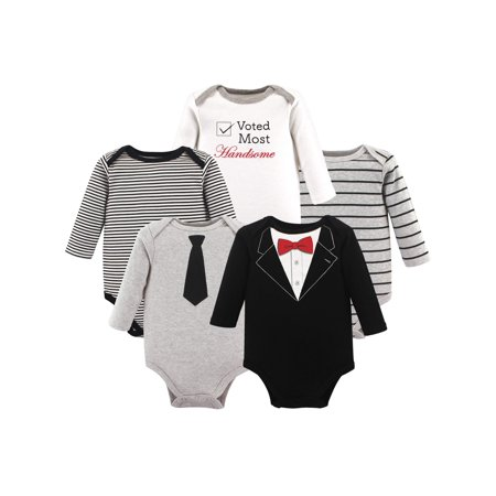 Little Treasure - Baby Boy Long Sleeve Bodysuits c3e5769b7