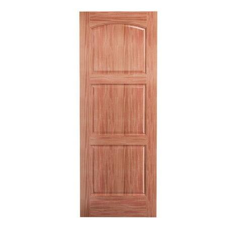 Karona door wood 3 panel interior door for 6 horizontal panel wood doors