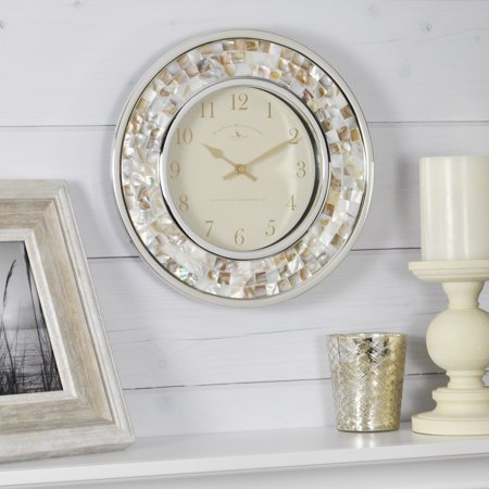 FirsTime & Co.® Pearl Mosaic Wall Clock ()