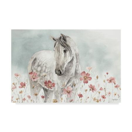 Trademark Fine Art 'Wild Horses I' Canvas Art by Lisa -