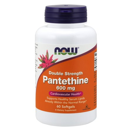 NOW Supplements, Pantethine 600 mg, 60