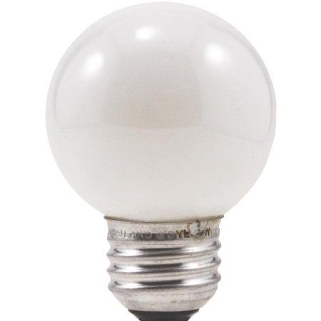 Sylvania 10299 Decorative Incandescent Lamp, 40 W, 120 V, G16.5, Medium Aluminum Screw,