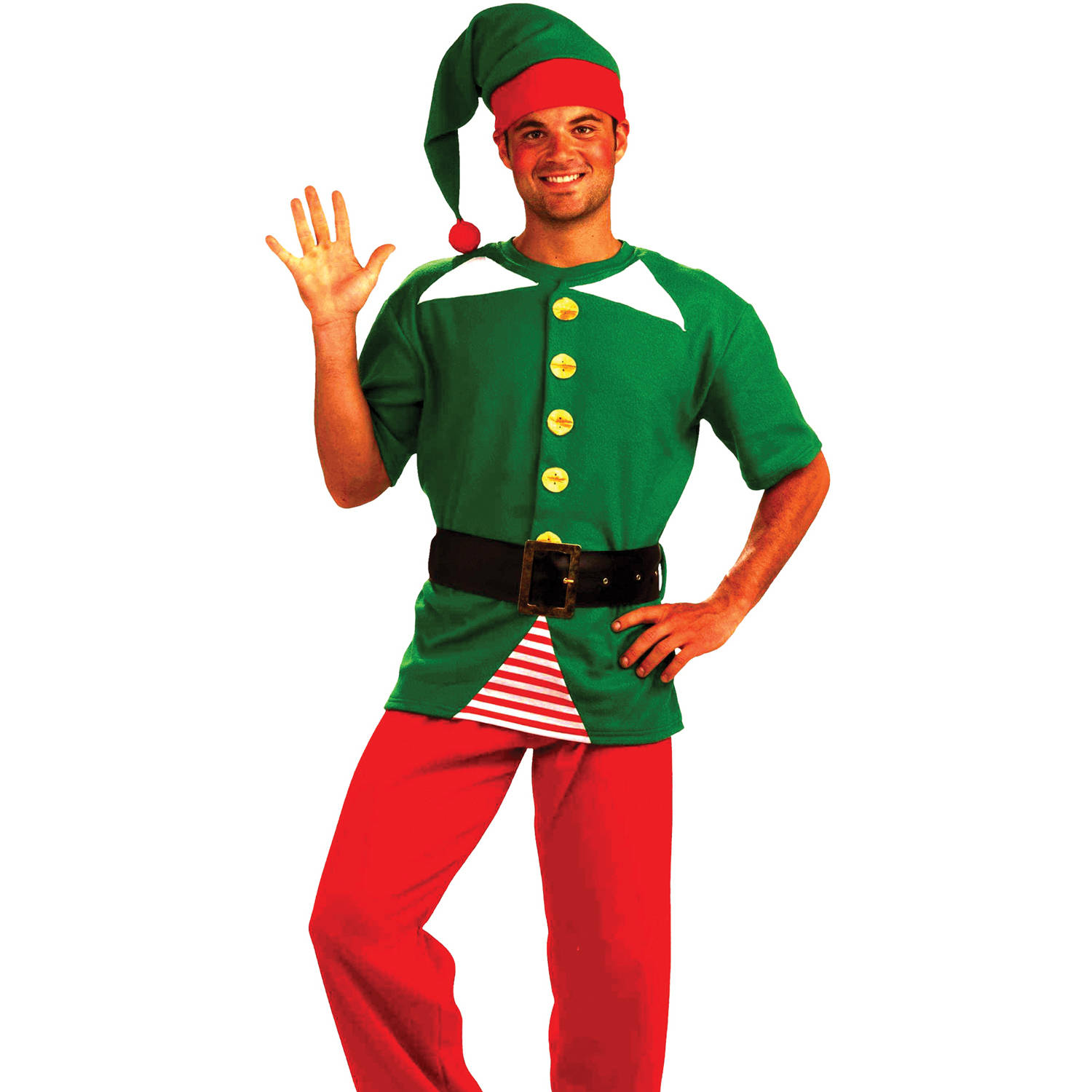 Jolly Elf Kit Men's Adult Halloween Costume
