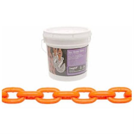 """Apex Tool Group LLC Chain 0231912 5/16"""" x 12' High Test Tow Chain with Clevis"""