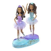 Barbie in the 12 Dancing Princesses Princess Isla & Princess Hadley Dolls African American