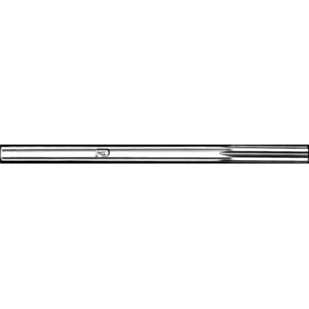 - F&D Tool 27425 Right Hand Straight Shank Chucking Reamer, Size 0.593 - 2 Flute Length x 8 OAL - Series 759
