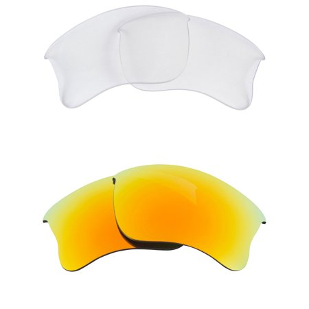 a162300f62 Best SEEK Replacement Lenses for Oakley HALF JACKET 2.0 XL Clear ...
