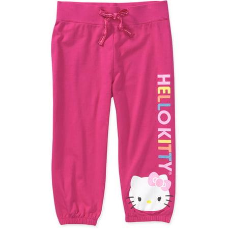 6de0d314a Online - Hello Kitty - Girls French Terry Capri P - Walmart.com