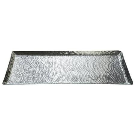 Aluminum Square Platter (Kindwer Square Hammered Serving)