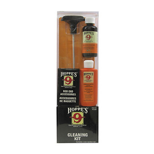 Hoppe's Pistol Cleaning Kit with Aluminum Rod, .40 .45 Caliber by Hoppe'S