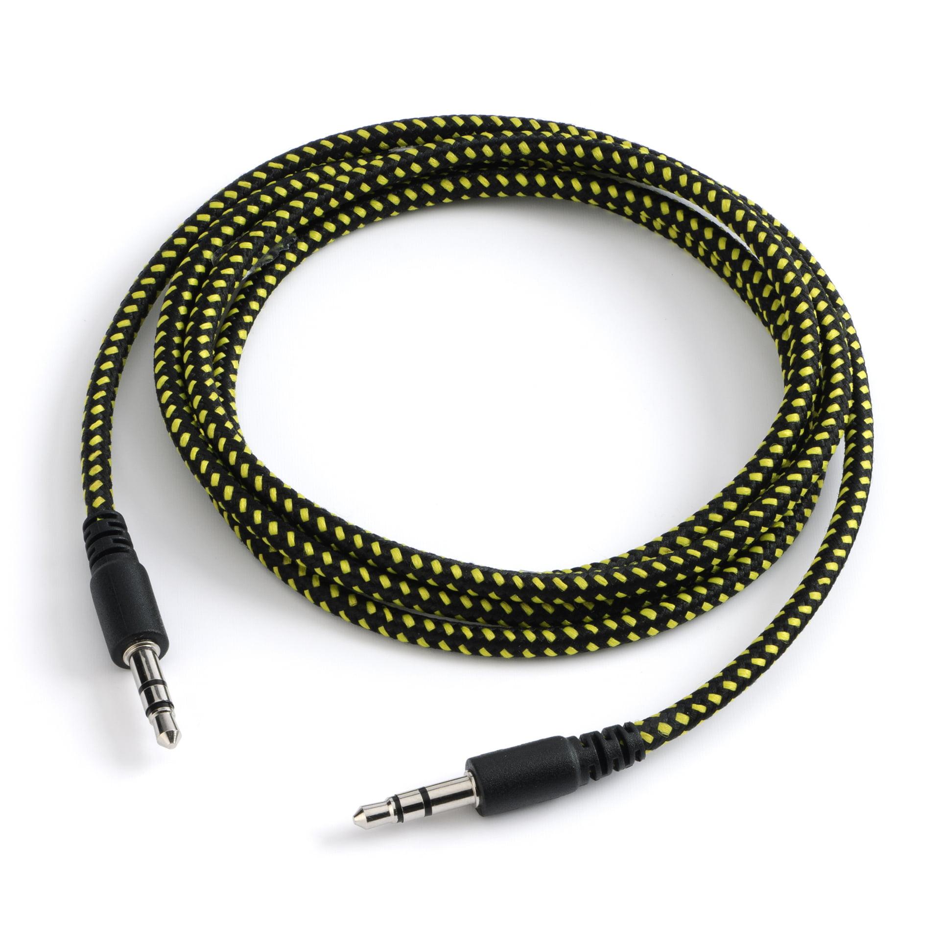 Carwires A204-BLK - Mini-Jack Audio Cable (4 ft.)