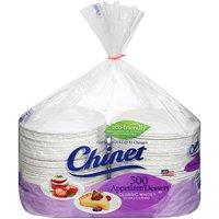 "Chinet Classic White 6.75"" Appetizer & Dessert Plates (300 ct.)"