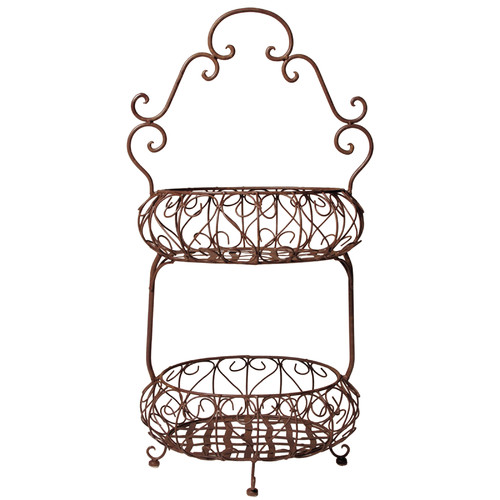 Selectives Savannah Double Basket (Set of 2)