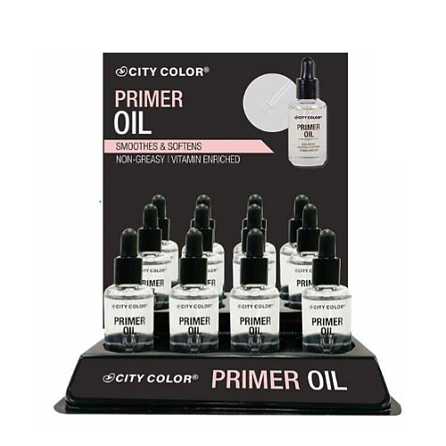 CITY COLOR Primer Oil Display Case Set 12 Pieces