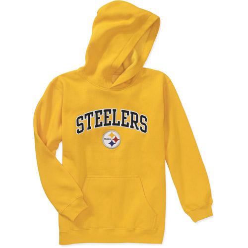 NFL Boys' Pittsburgh Steelers Fleece Top