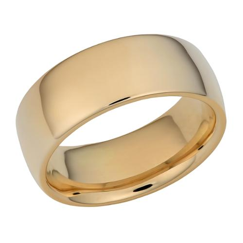 Fremada 14k Yellow Gold 8-mm Wedding Band SIZE 10