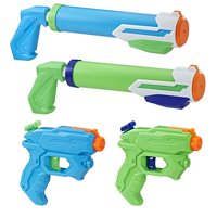 Super Soaker Floodtastic Water Blaster 4-Pack, Ages 6 and Up