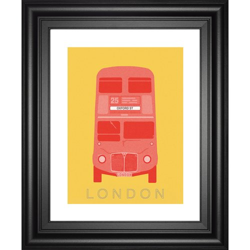 Classy Art Wholesalers London Transport 2 by Ben James Framed Graphic Art