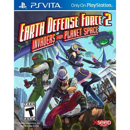 Earth Defense Force 2: Invaders from Planet Space (PSV)
