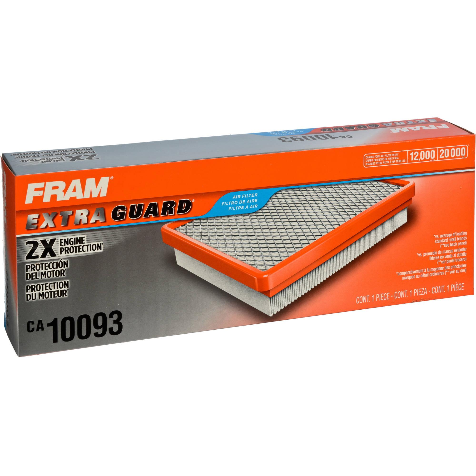 FRAM Extra Guard Air Filter, CA10093 by FRAM