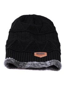 bcee4d5977ded5 Men's Soft Stretch Knit Lined Thick Warm Ski Cap Winter Wool Slouchy  Beanies Hat