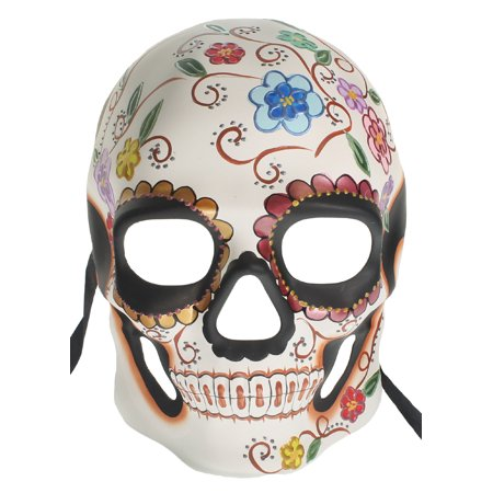 DAY OF THE DEAD MASK - Dia de los Muertos - HALLOWEEN - Day Of The Dead Halloween Masks