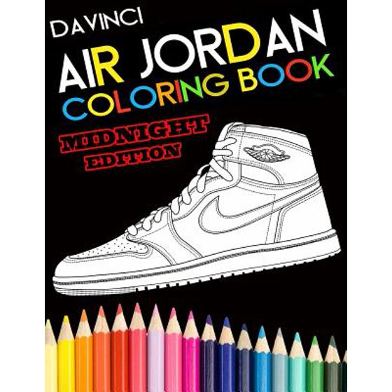 Air Jordan Coloring Book Midnight Edition