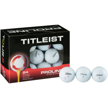 - Titleist Proline Golf Balls, 24 Pack