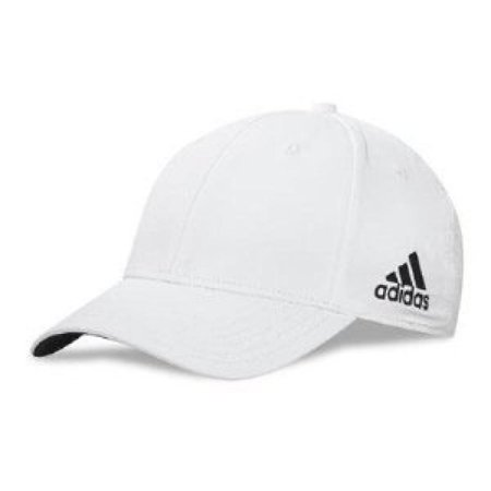 adidas Men's Core Performance Max Front-Hit Relaxed Hat (White) (Hats Adidas)