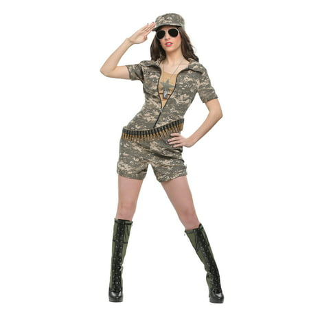 Women's Military Officer - Women Military Costumes