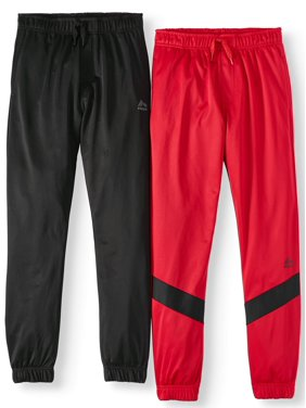 RBX Active Tricot Jogger Pant, 2-Pack (Little Boys & Big Boys)